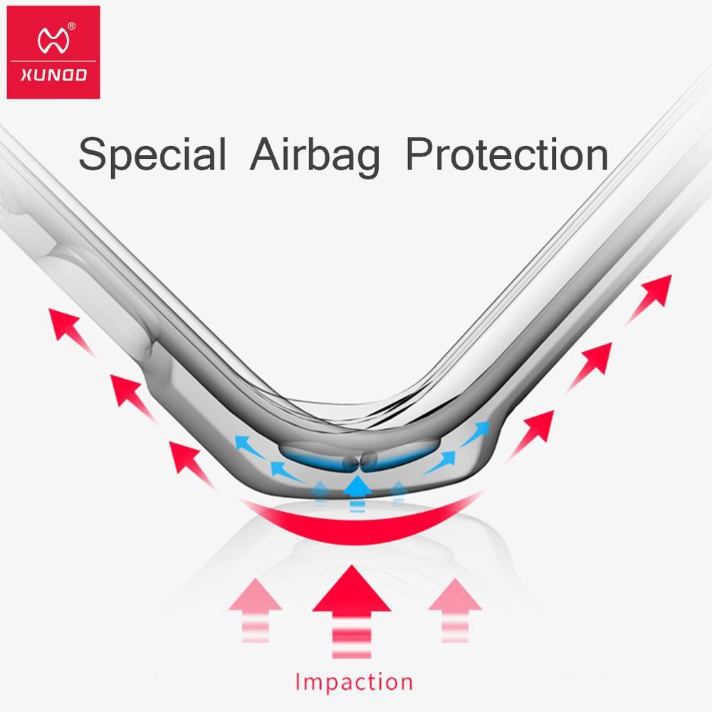 Ipad Air 4 透明保護套的 Xundd 防震套