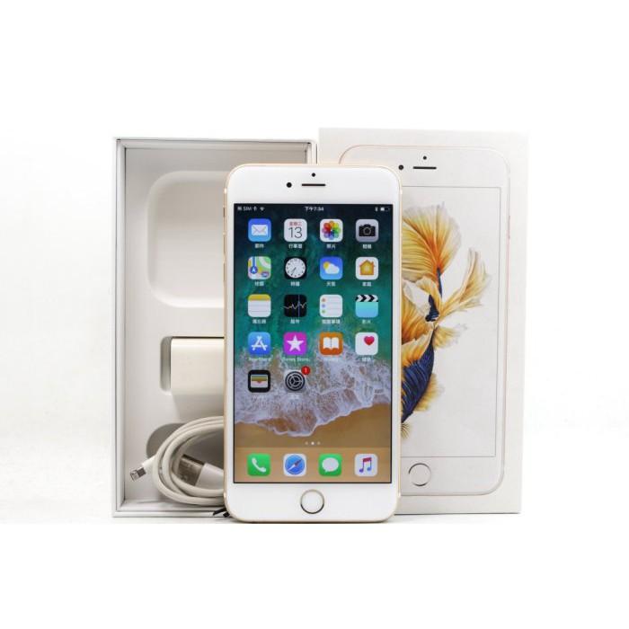 【青蘋果3C】Apple iPhone 6S Plus 金 64G 64GB 二手 5.5吋 蘋果手機 #19662