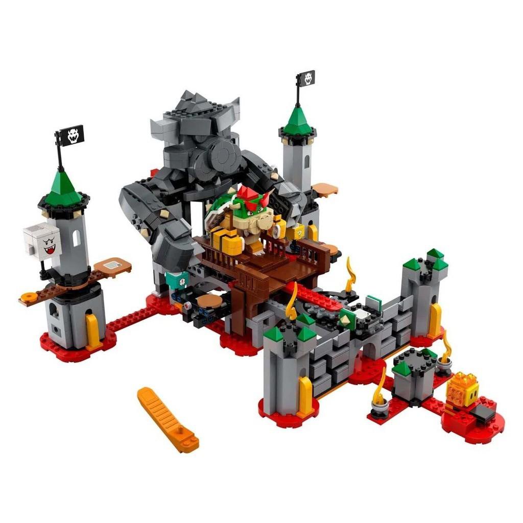 【妃子笑】現貨 LEGO樂高積木超級馬里奧系列71369酷霸王城堡之戰益智玩具新品