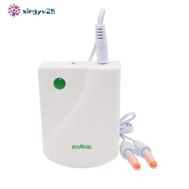 BIONASE 鼻炎照射按摩器  鼻炎紅外按摩儀 傢用鼻炎保健儀  (下單不要帶電池)