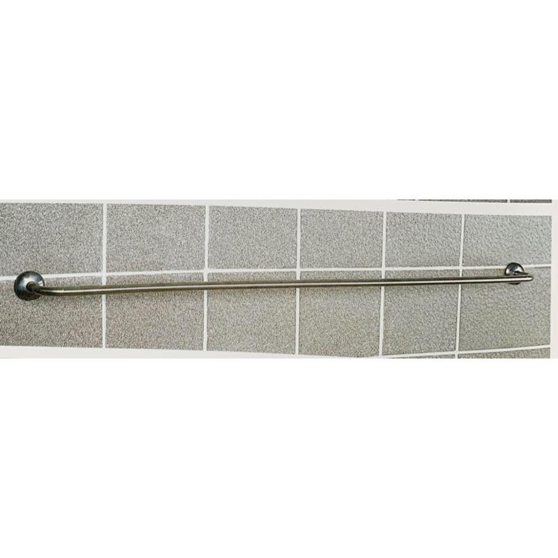浴室 白鐵 不鏽鋼 單桿 毛巾架 6分管 2尺 3尺 4尺 5尺