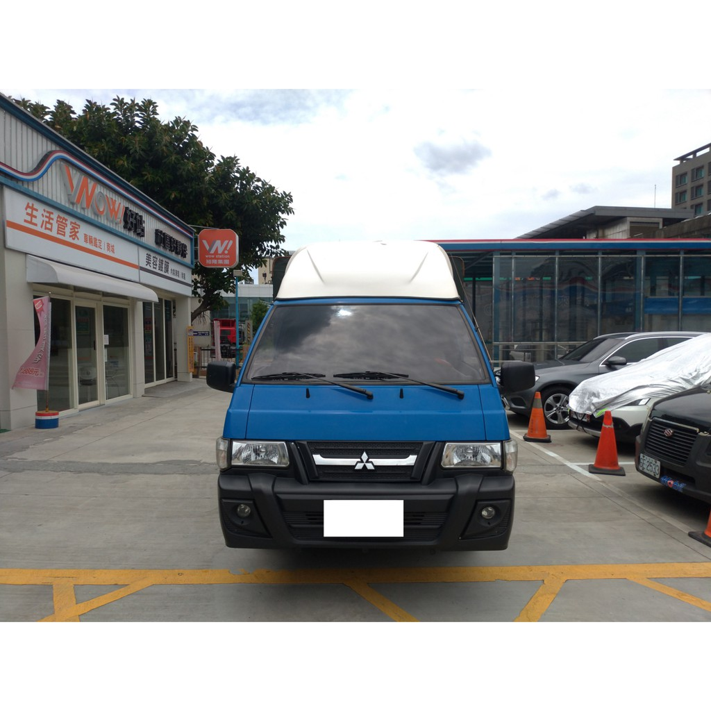 2014 中華 三菱 MITSUBISHI 得利卡 DELICA 2.4 藍色 蓬式 升降尾門 ~ 二手車 中古車