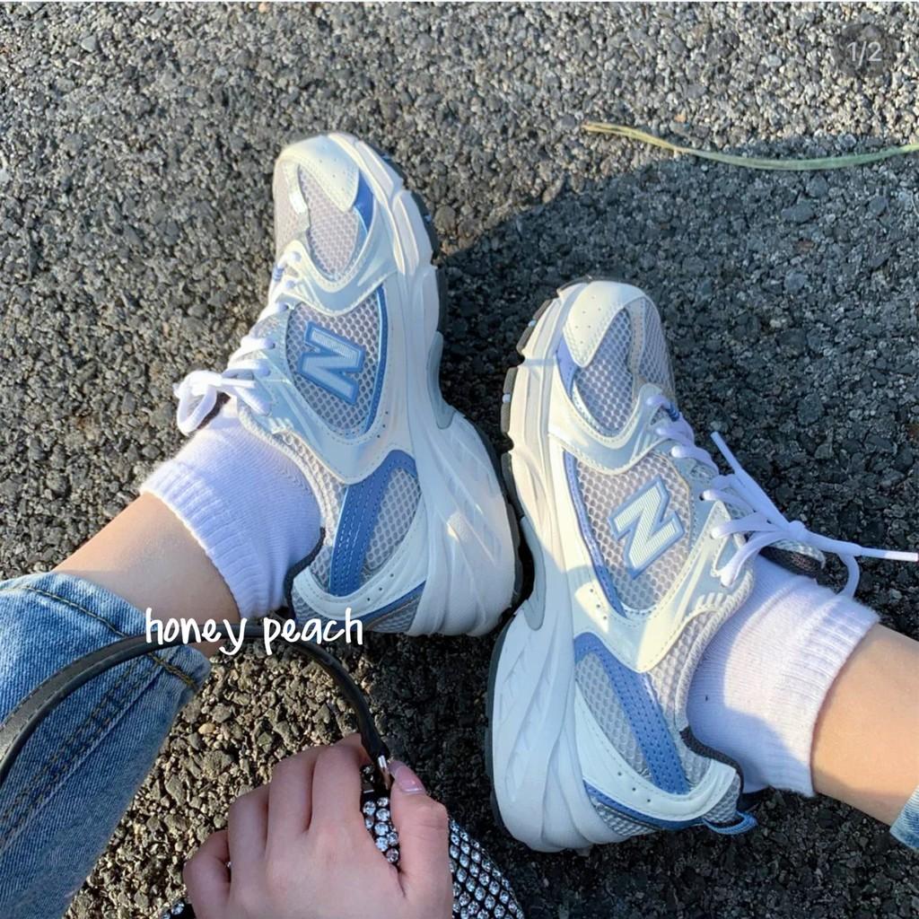 韓國代購🇰🇷 New Balance NB530 白藍色 運動休閒鞋 MR530 MR530KC