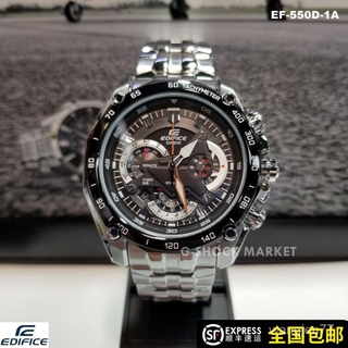 CASIO賽車EDIFICE卡西歐紅牛手錶男EF-550D-1A車隊F1風格男錶 臺北市