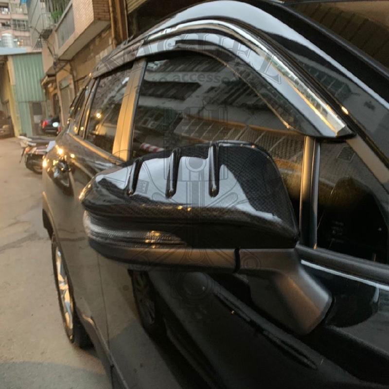 20+Corolla Cross 擾流牙卡夢水轉印後視鏡蓋