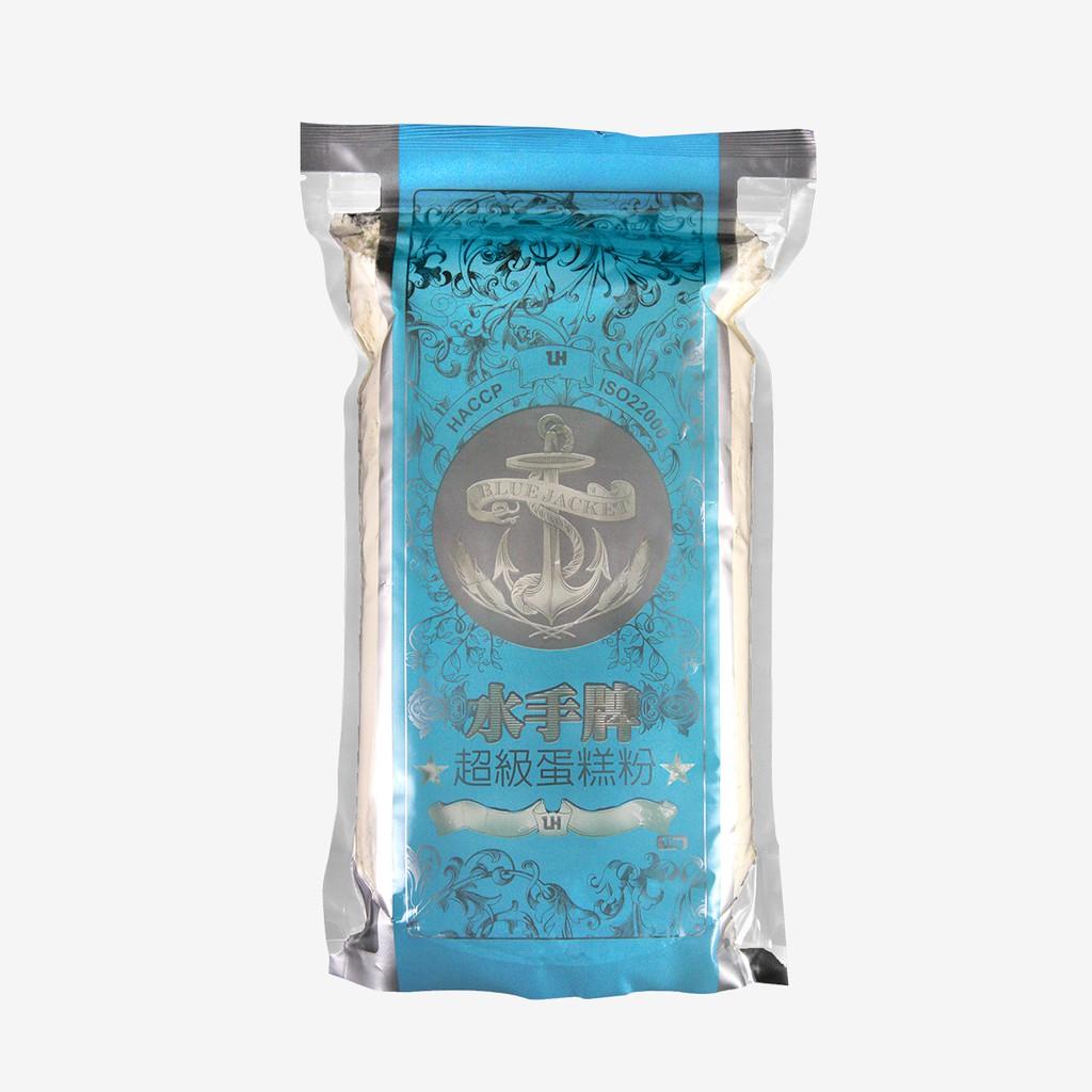水手牌 蛋糕粉(低筋)1kg / 包 [藍]