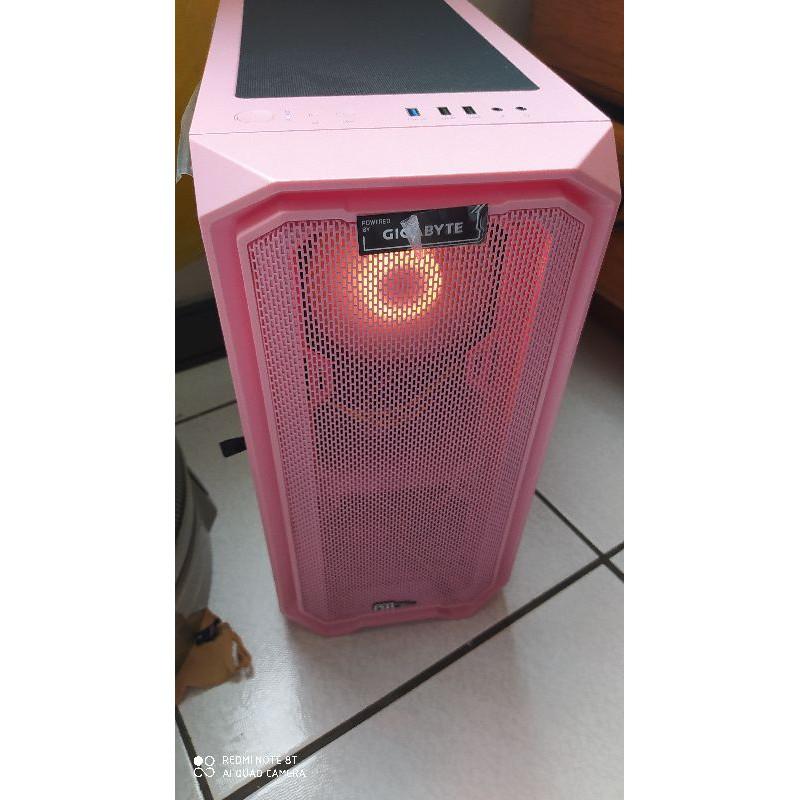 亞碩 M2 粉紅色電腦機殼