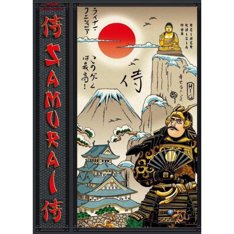桌遊 侍 Samurai 圖文版 設計師製圖 二手