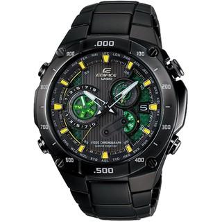 CASIO 卡西歐 EDIFICE 太陽能 (六局電波) 三眼錶賽車錶 EQW-M1100DC-1A2