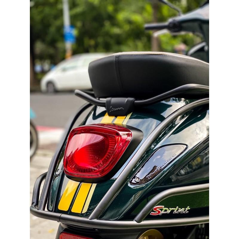 [ Morris Vespa ] Vespa sprint 黑化 尾燈框 尾燈殼 LED版 新版 春天 衝刺