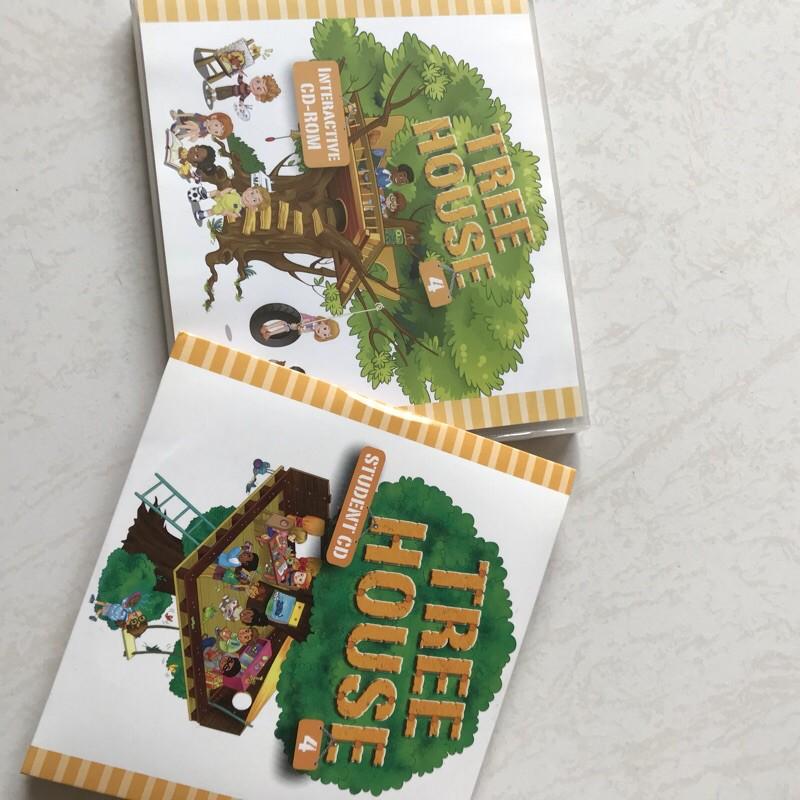 何嘉仁 Tree House4 CD
