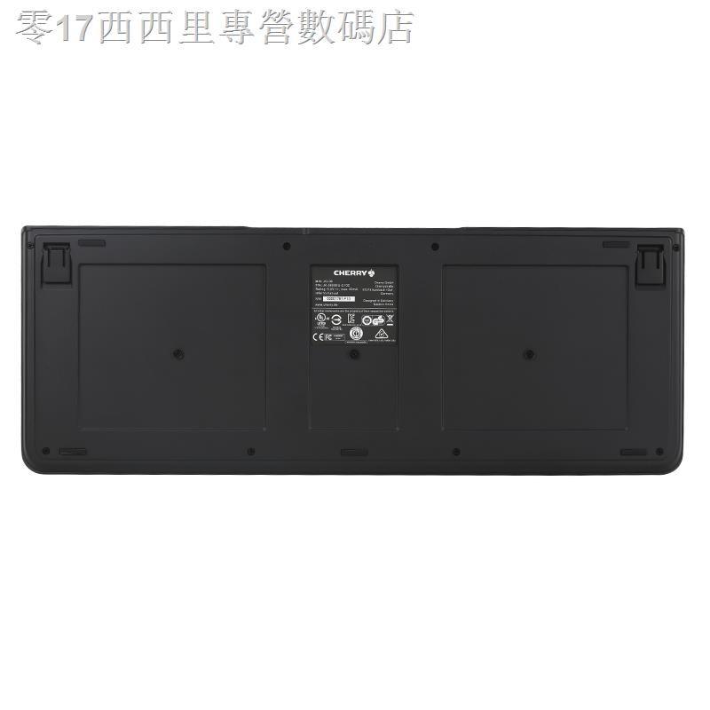 現貨♤ CHERRY櫻桃KC1000有線辦公商務薄膜鍵盤打字游戲臺式電腦USB