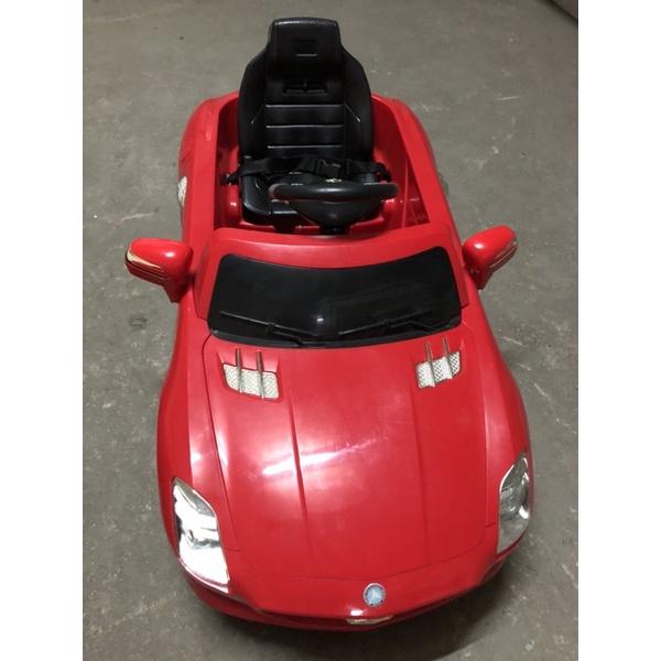 [二手近全新]賓士車 兒童電動車 電動跑車 遙控 大型騎乘玩具 $2000不含運 小花童進場 生日禮物 兒童節禮物 聖誕
