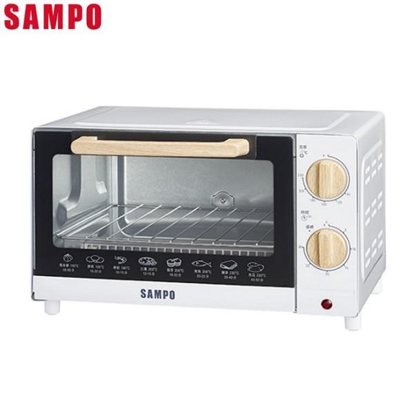 SAMPO 聲寶 - 10L溫控機械式電烤箱 KZ-CB10 A級福利出清品‧限量搶購中