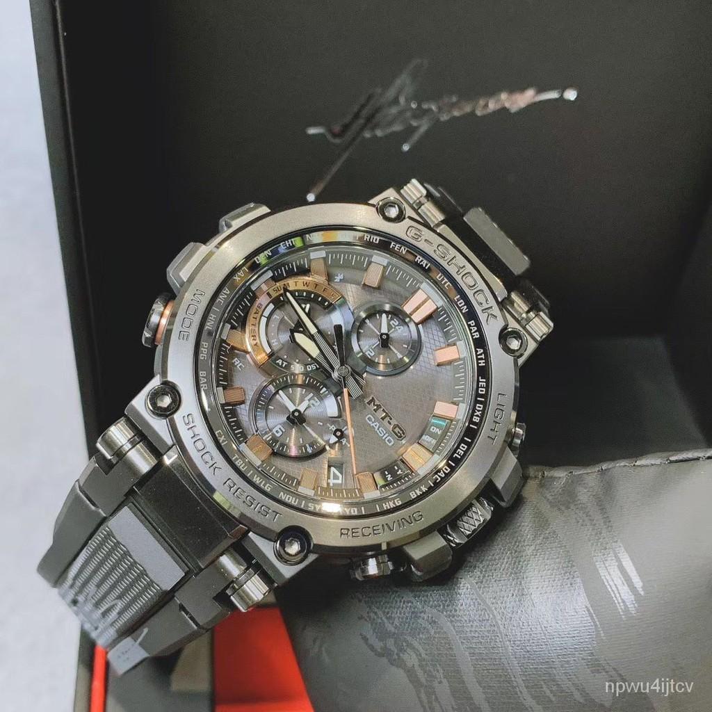 卡西歐G-Shock太極款 MTG-B1000TJ-1A  GST-B200TJ-1電波男錶