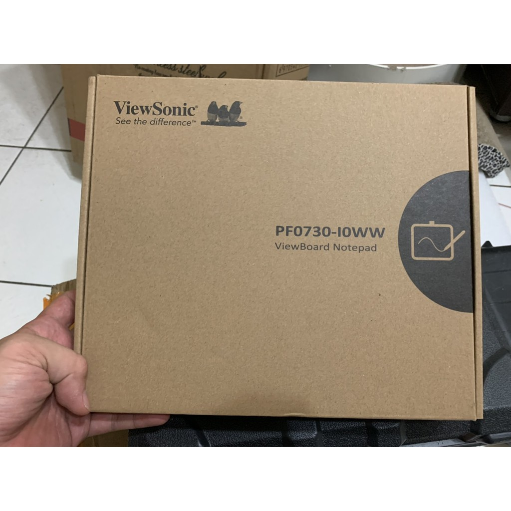 【二手】【ViewSonic 優派】ViewBoard Notepad PF0730 7.5吋竹製數位繪圖板【二手】