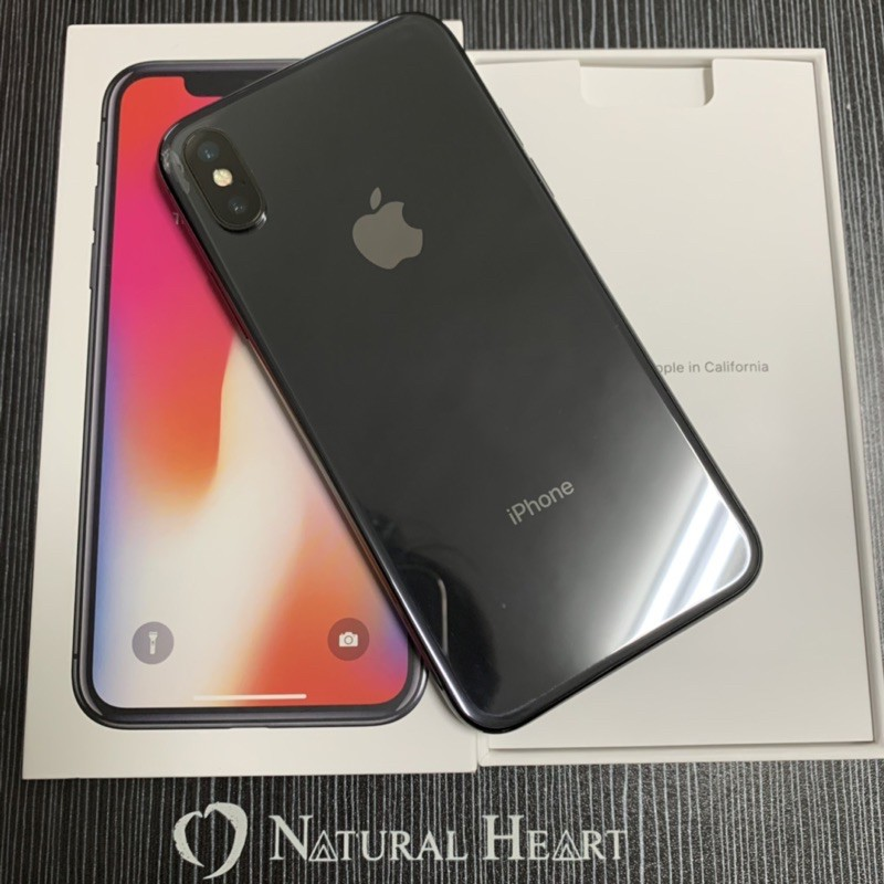 售 二手蘋果🍎APPLE iphone X 256G 灰 8.5成新 功能都正常 可舊機折抵 雙北 宜蘭可面交