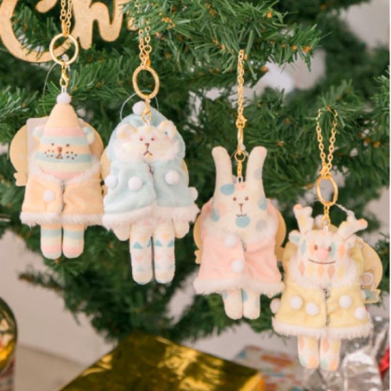 宇宙人 2019 聖誕 限定 熊 兔 狗 鹿 吊飾 面紙套 CRAFTHOLIC