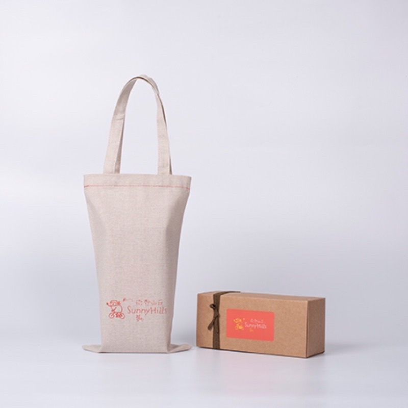 [現貨]微熱山丘土鳳梨酥10入&16入 禮盒 蘋果酥 101(附麻布袋)