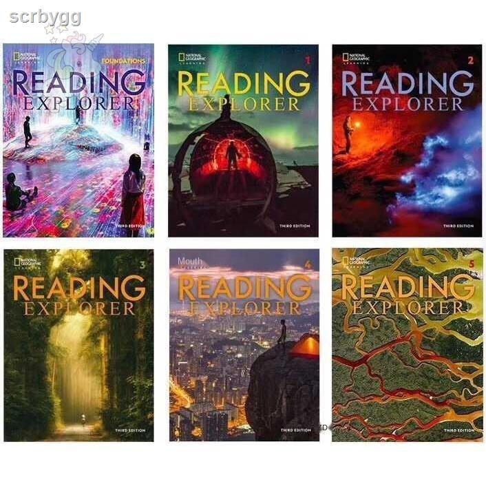 SCB Reading Explorer(閱讀探險者)最新第三版 F 1 2 3 4 5 階段六冊一套 小達人點讀