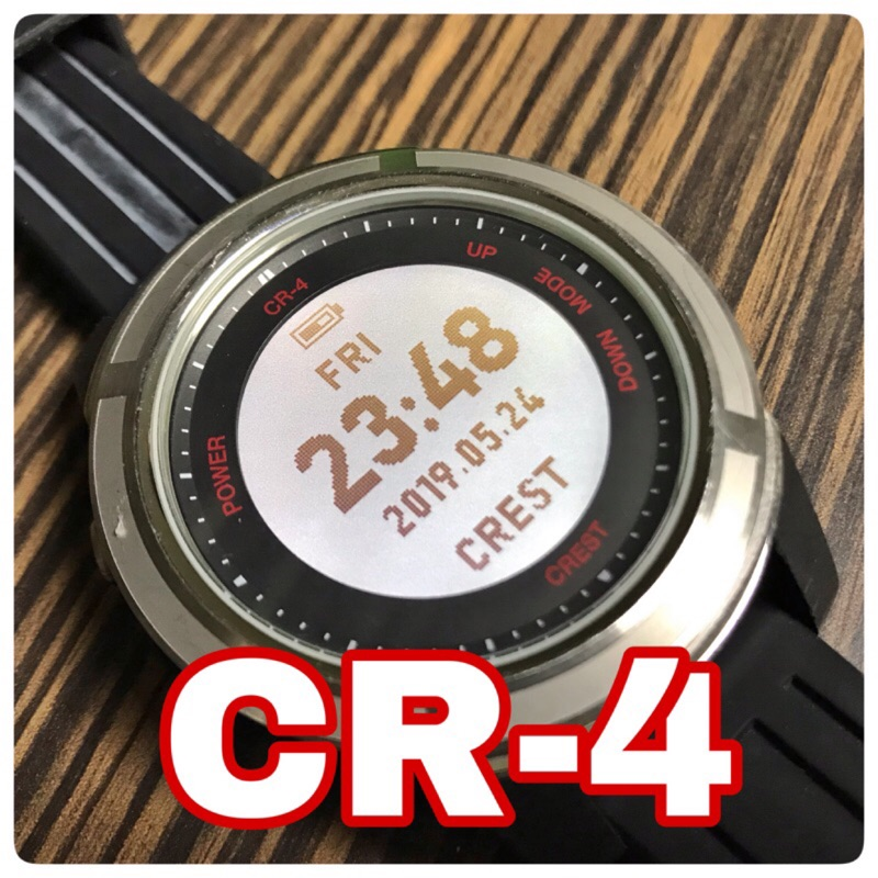Crest CR-4 潛水電腦錶鋼化玻璃膜保護貼