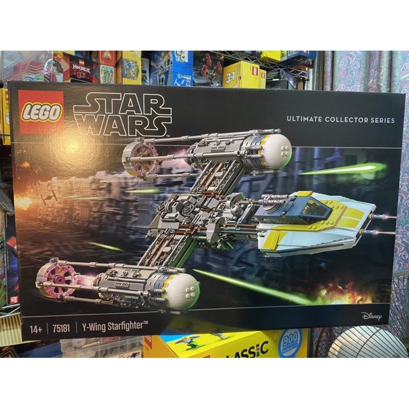 正版樂高 lego 75181 StarWars Y-Wing Starfighter USC 星際大戰 Y翼戰機