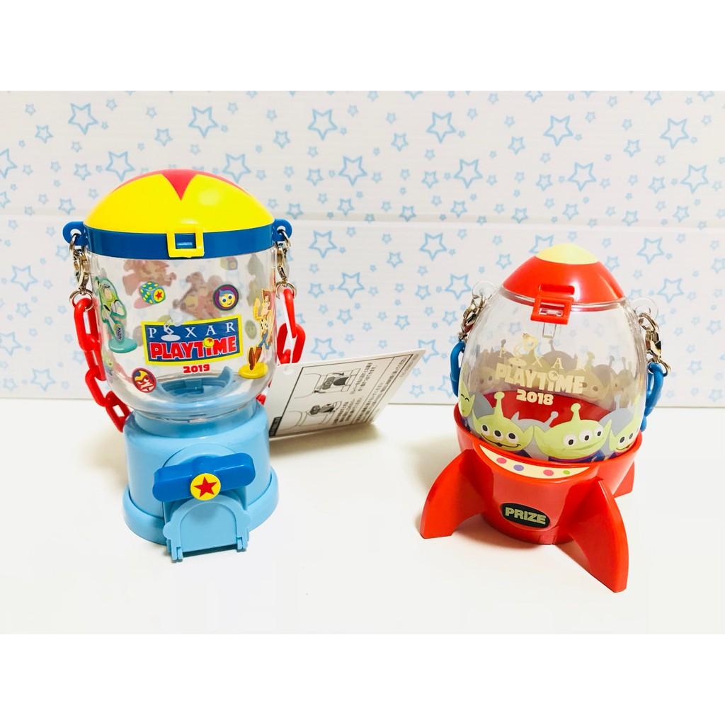 東京迪士尼 樂園 糖果盒 糖果罐 三眼怪火箭 玩具總動員 皮克斯 巴斯 胡迪 三眼怪 絕版 2018 2019 限定