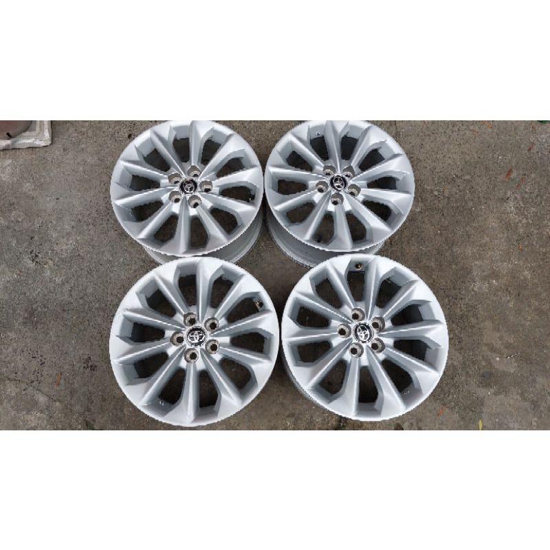 豐田汽車 Toyota Altis 16吋原廠鋁圈加輪胎 五孔100(Wish也可以用)