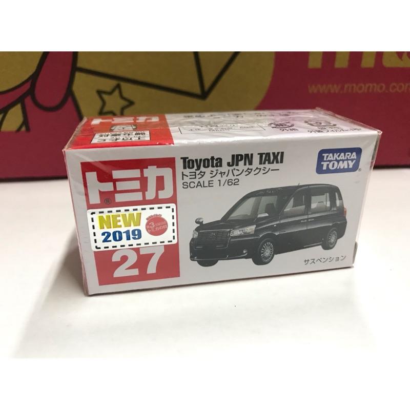 Tomica NO.27 TOYOTA JPN TAXI 新車貼 2020東京奧運