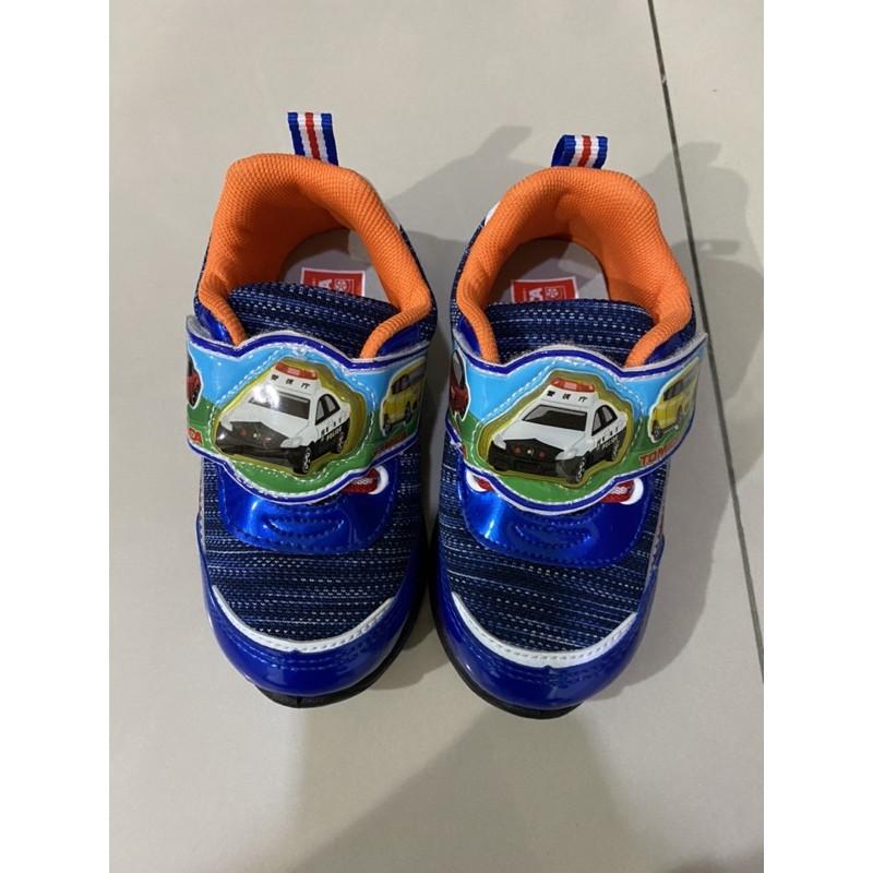 正版tomica發光警車包鞋 球鞋 學步鞋16號