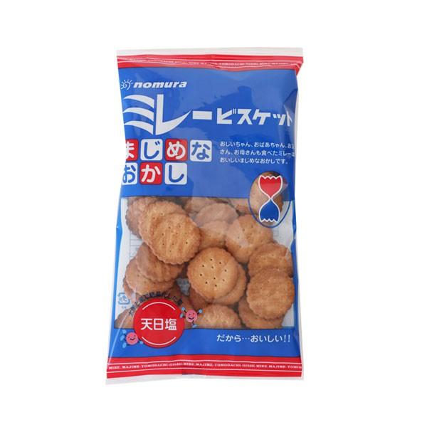 日本 野村煎豆 美樂圓餅 130g 餅乾 小圓餅