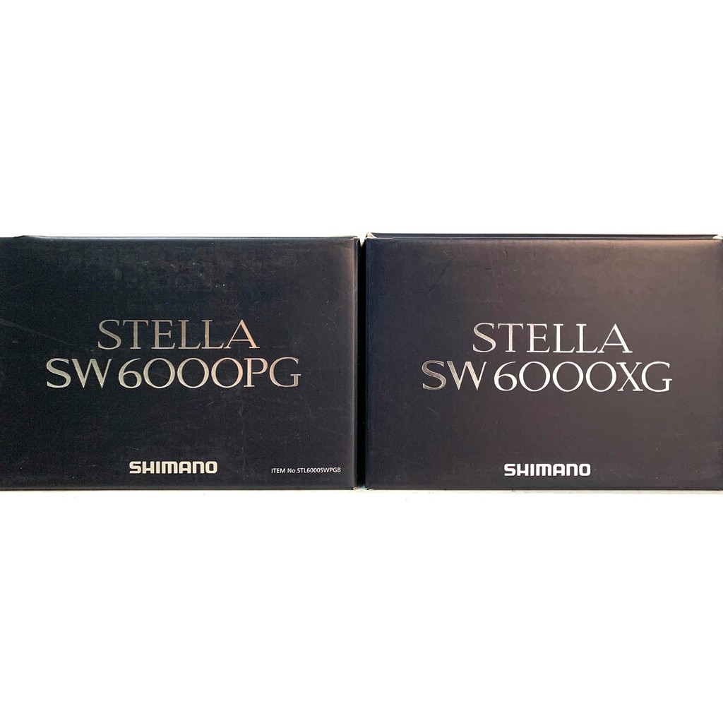 SHIMANO 20年STELLA  SW6000PG