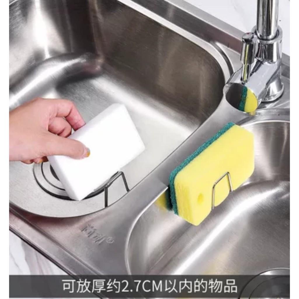 [台灣出貨]304不銹鋼洗碗海綿收納瀝水架/鍋蓋架/砧板架/鍋刷架/鍋具架/餐具架/碗盤架/廚房用品收納架