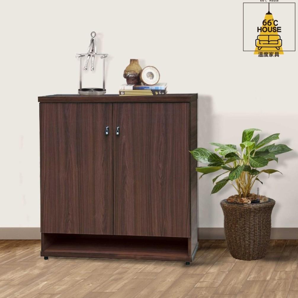 【溫度家具】現代系列 開門鞋櫃 五色可選 木心板