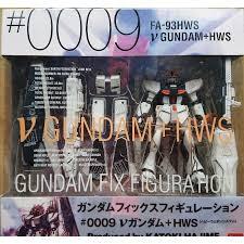 Gundam Fix Figuration(GFF) #0009 Nu Gundam HWS ν鋼彈