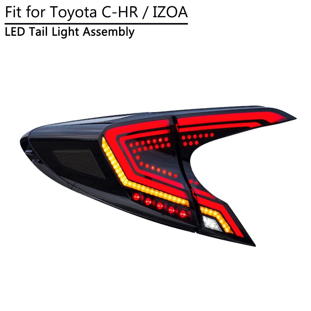豐田 C-Hr Chr Izoa 2018 2019 2020 2021 後燈驅動剎車燈的 Led 尾燈組件, 帶動態順