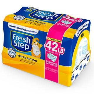 Fresh Step 菲麗思天然強效清香貓砂 藍鑽  42lBs  Ever Clean 臺中市