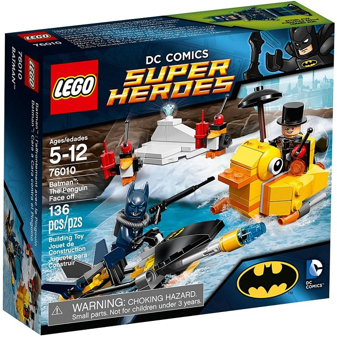 "  高雄 宅媽 樂高 積木   LEGO""76010""Batman™:The Penguin Face off"