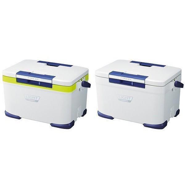 ☆~釣具達人~☆SHIMANO FIXCEL LF-030N 輕量/雙開式/大容量高保冷冰箱白