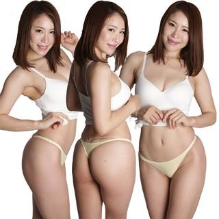 La-Pomme日本女內褲性感窄邊2WAY平光柔滑彈力低腰丁字褲417002現貨 新北市