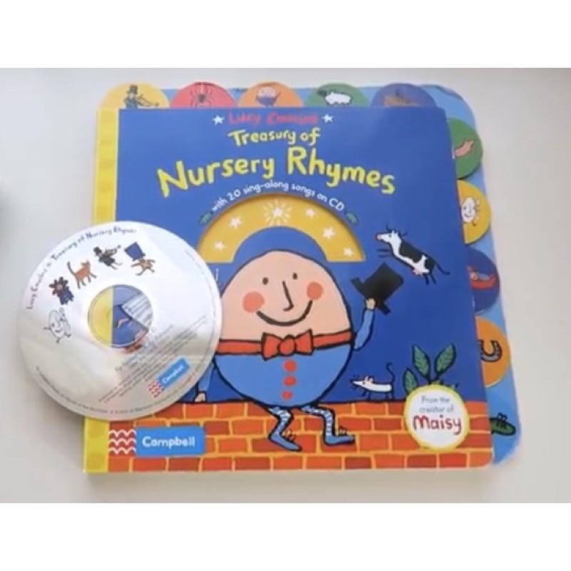Lucy Cousins Treasury of Nursery Rhymes 硬頁童謠書(含CD)