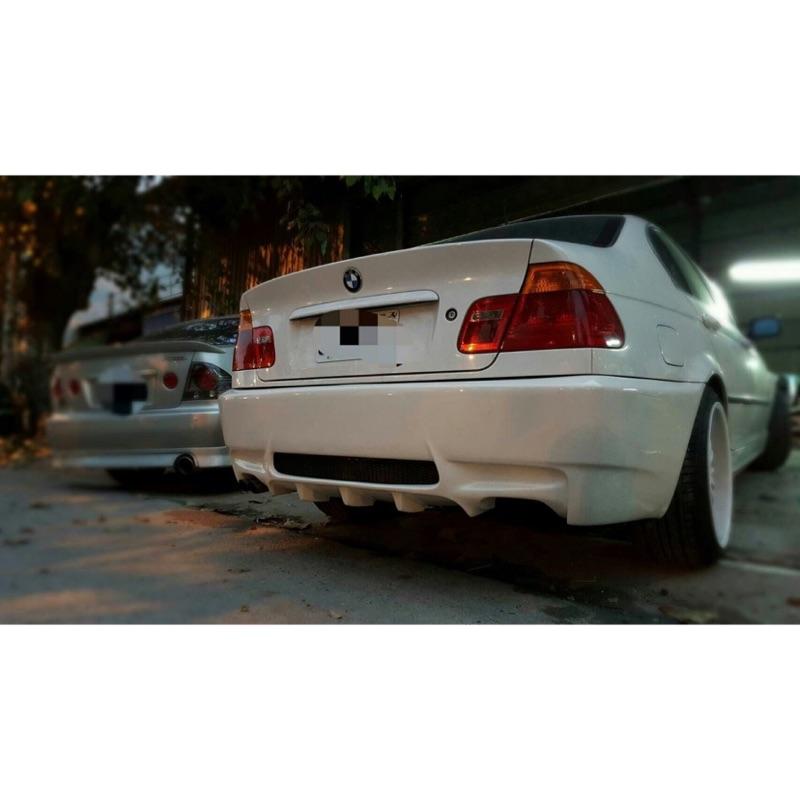 寶馬BMW E46改E92 M3後保桿大包