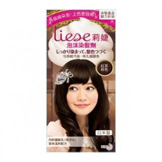 莉婕 泡沫染髮劑 紅茶棕色『小欣星』 臺北市