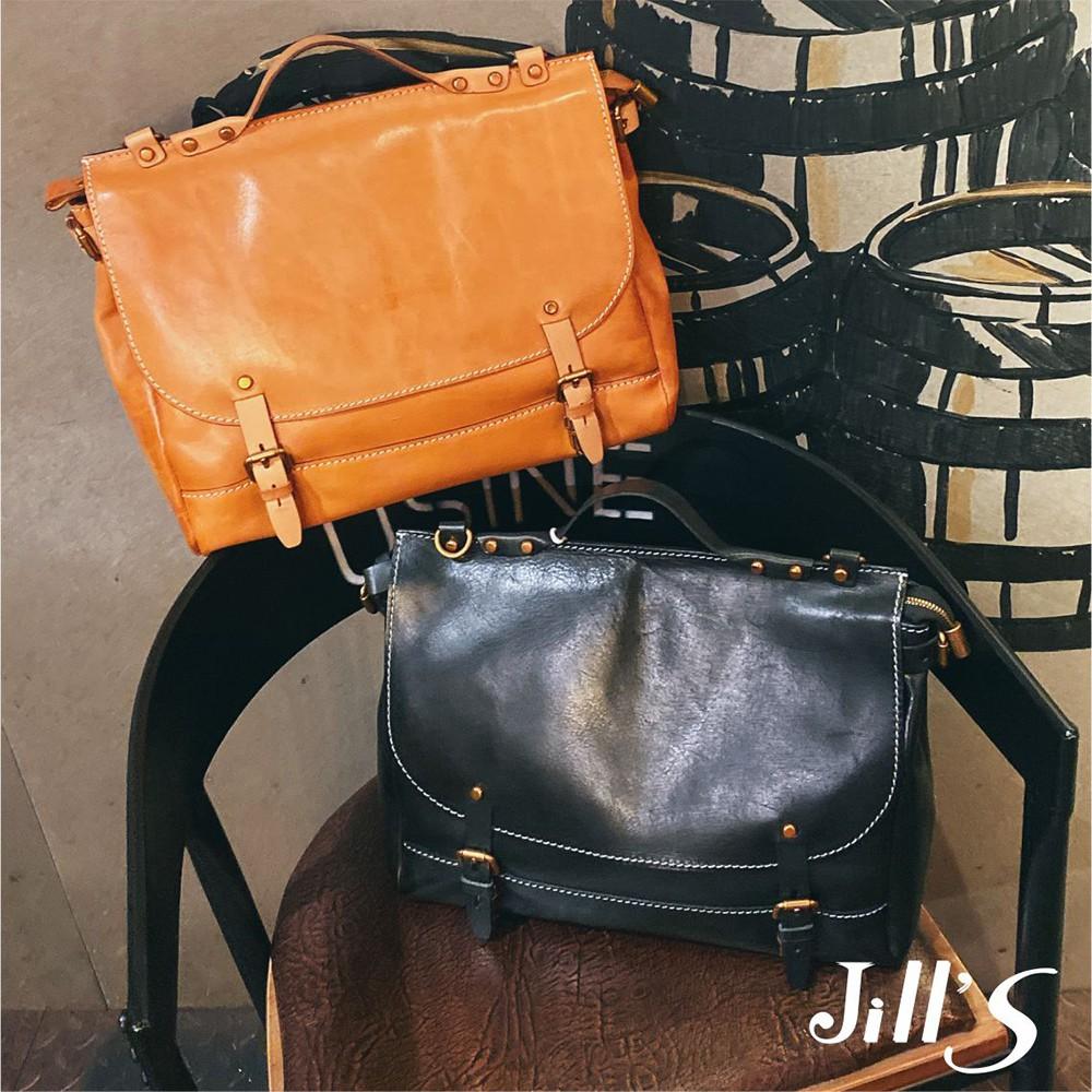 Jills 植鞣皮革瑞貝爾兩用包 共二色
