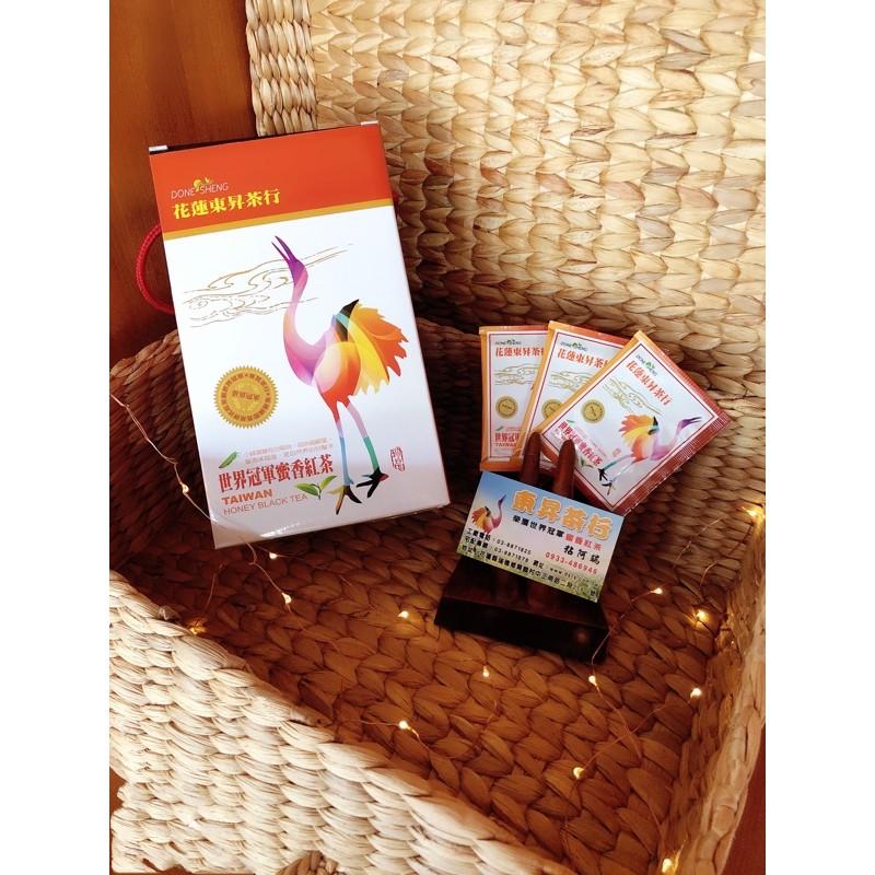 東昇茶行x蜜香紅茶/綠茶/茶包/每包4公克/60包