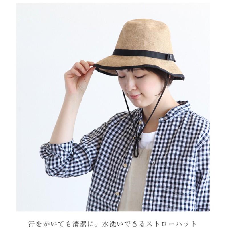日本限定~北臉黑標The north face 男女成人草帽