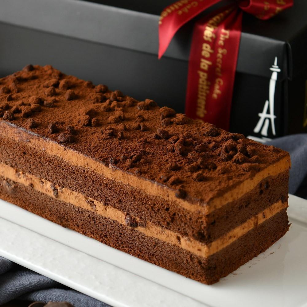 《the secret cake 法國的秘密甜點》鹽之花焦糖巧克力蛋糕