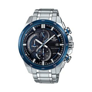 アCASIO卡西歐手錶 EDIFICE EQS-600系列運動太陽能 男錶 三眼錶 賽車系列 男士腕錶 商務手錶ア