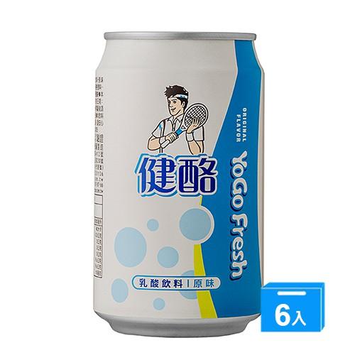 健酪乳酸飲料原味320ML x 6【愛買】