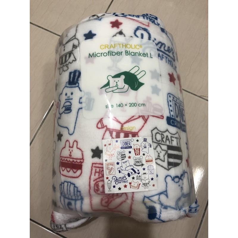 宇宙人 CRAFTHOLIC 日本療癒系品牌 美國系列大毛毯